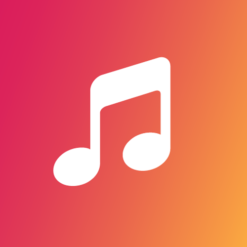 Default music note image