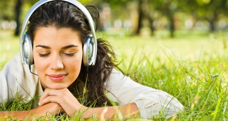 woman-listening-in-field