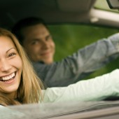 Couple In Car