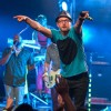 Tobymac pointing to crowd