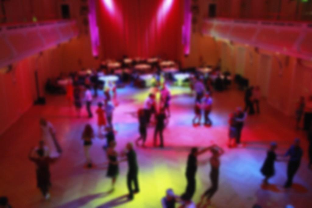 Ballroom dancing - blured