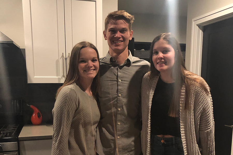James, Mady, Hannah